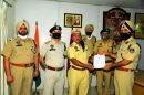 5 Punjab Home Guards 'Corona Warriors' honored with DGP's Commendation Disc