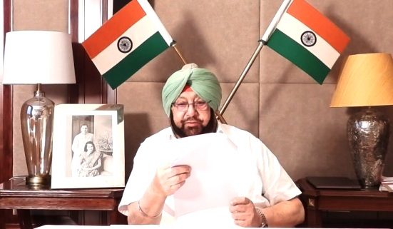 By the grace of God, India and Punjab will remain safe and progress: Capt