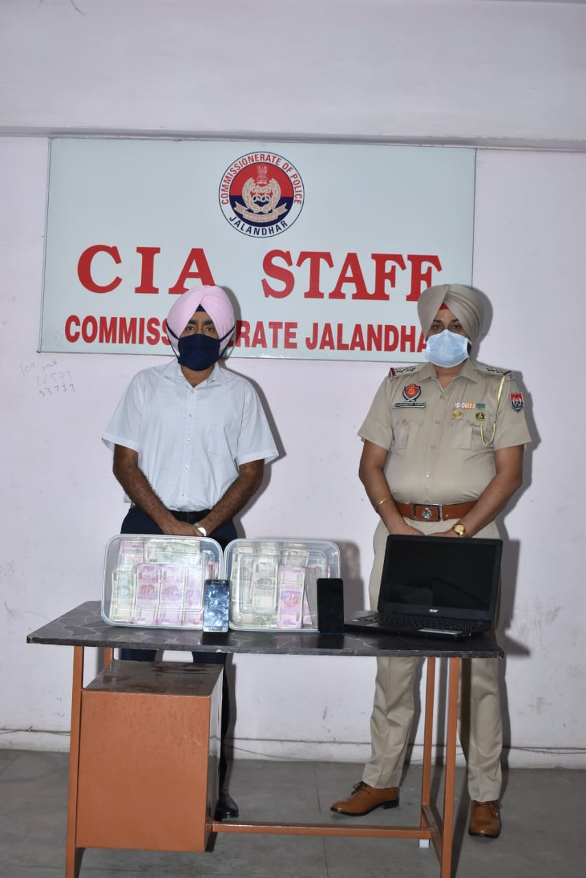 Commissionrate Police arrests bookie seize Rs 1.23 crore, laptop and mobile etc:CP Bhullars
