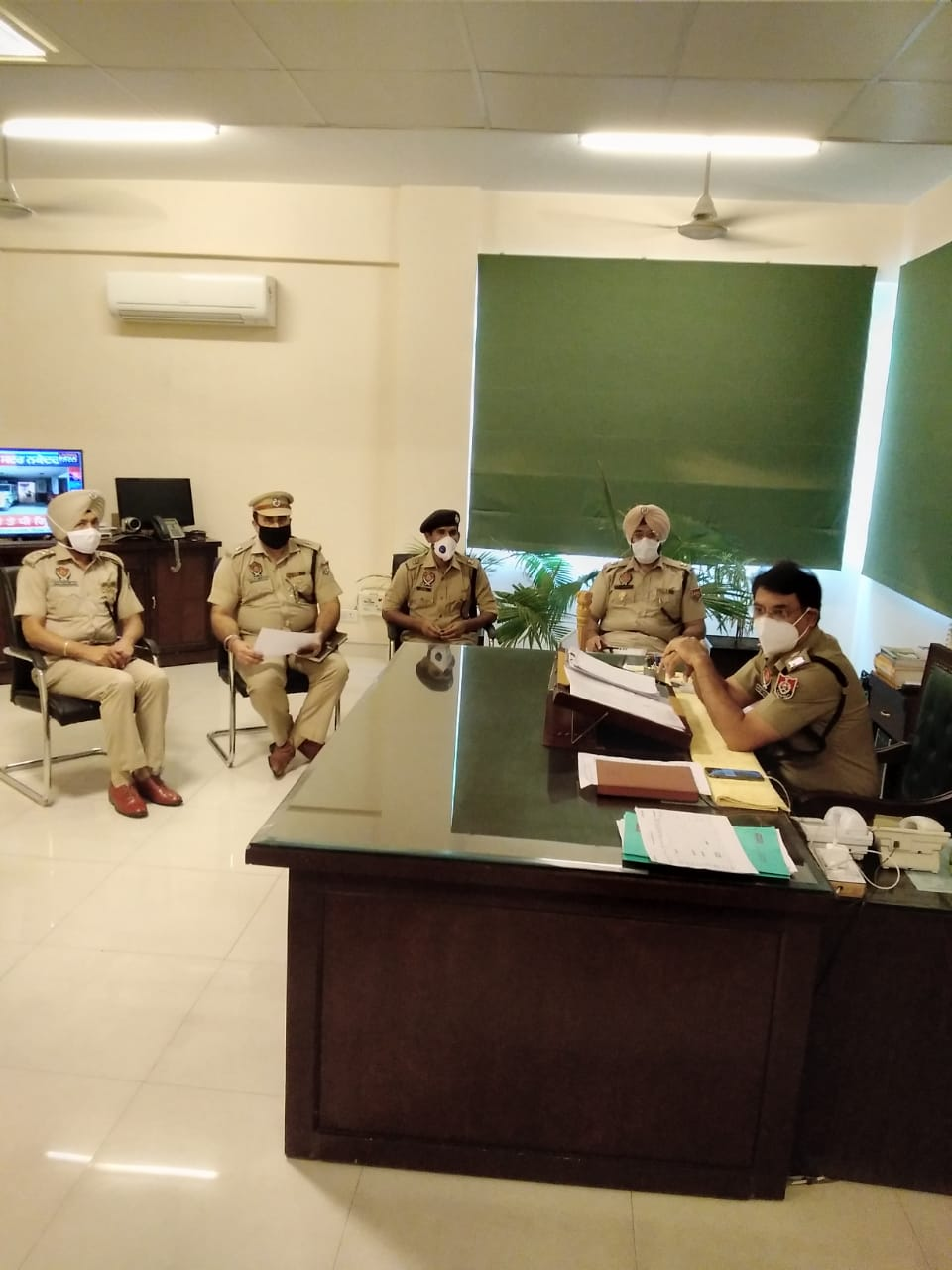 Conquering COVID-19 SSP Jalandhar Rural Navjot Mahal joins duty after 18 days