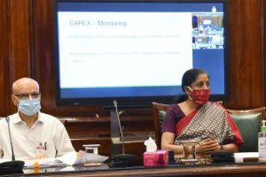 Finance Minister holds review meeting on CAPEX of 23 CPSEs