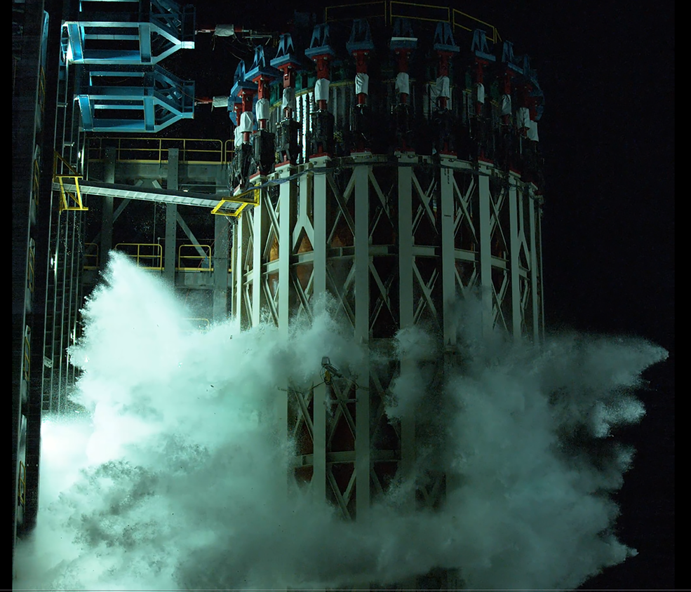 NASA Completes Artemis Space Launch System Structural Testing Campaign