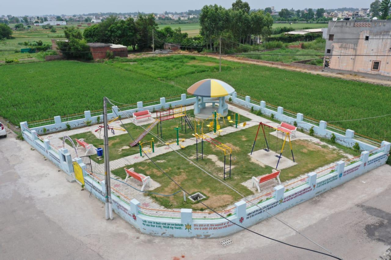 Alipur Village gets Second beautiful Park under MGNRGA