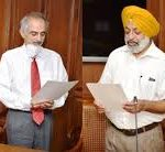 Punjab Governor Administers Oath to Chairman and Members of Water Regulation Devrlopment Authority admanisters