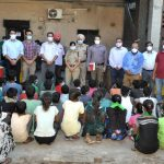 Commissionerate Police  rescue 47 Children from Leather Complex Factories